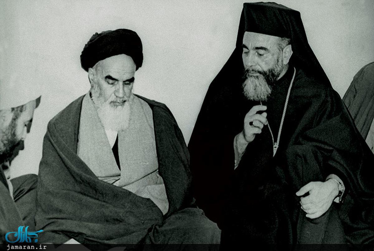 محورهای مهمی که امام در دیدار با اسقف کاپوچی مطرح کرد
