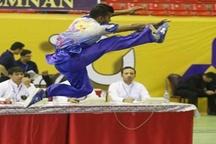 ووشوکاران قم ۱۲ مدال مسابقات کشوری را تصاحب کردند