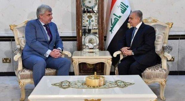 وزیر خارجه عراق با سفیر روسیه در بغداد دیدار کرد