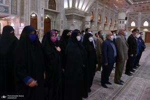 تجدید میثاق دانشجویان و برخی از اعضای جهاد دانشگاهی با آرمان های حضرت امام(س)