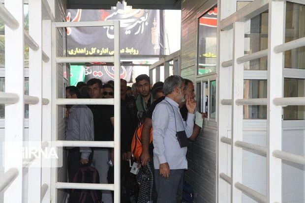 کاربران گذرنامه در مرز خسروی به ۴۰ نفر افزایش مییابد