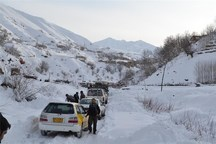 راه دسترسی احمدفداله و دره کاید دزفول مسدود شد