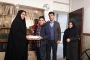 دانش آموزان البرز کاروان مهرفاطمی به راه انداختند