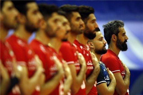 اسامی بازیکنان تیم ملی والیبال برای مسابقات قهرمانی آسیا
