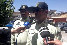 سارقان ۱۴ دستگاه خودرو در همدان دستگیر شدند