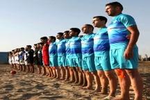 تیم فوتسال ساحلی فرش حدادی اصفهان به دنبال کسب سهمیه لیگ برتر
