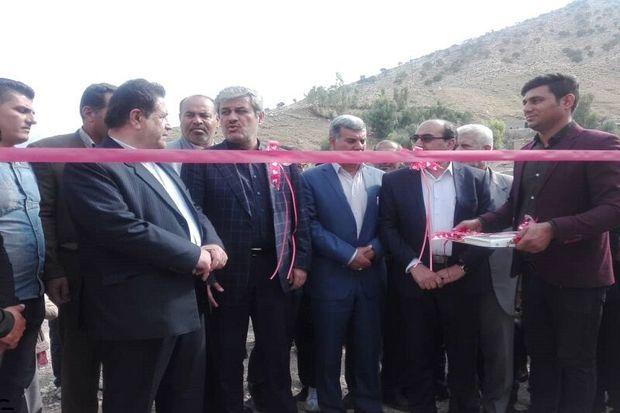 سه طرح ارتقا و توسعه ارتباطی در روستاهای گچساران بهره برداری شد