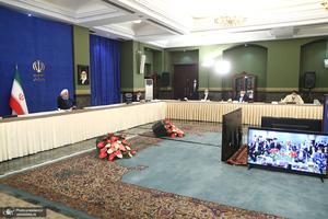 مراسم بهره برداری از طرح های ملی وزارت صمت
