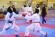 کاراتهکاهای دختر سمنان در المپیاد کشوری ۲ مدال گرفتند