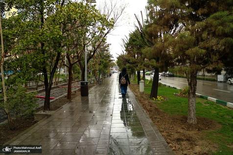 وضعیت بارش در مهر و آبان 98