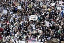 ده ها هزار آمریکایی در اعتراض به نژادپرستی اعتصاب می کنند