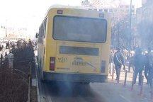 رژه اتوبوسهای پیر در پایتخت