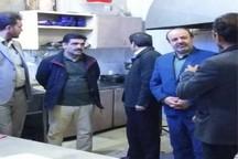 مسئولان به طور سرزده از سفره خانه های بیرجند بازدید کردند