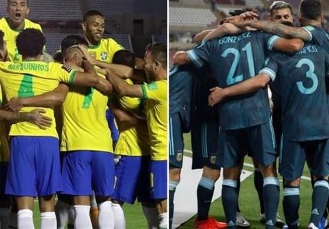 برتری برزیل و آرژانتین با شکست رقبا در انتخابی جام جهانی ۲۰۲۲