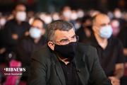 حضور معاون وزیر بهداشت در هیئت مداح معروف + عکس