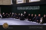 آخرین شب مراسم عزاداری حضرت فاطمه زهرا (سلاماللهعلیها) در حسینیه امام خمینی