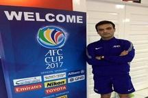 داور سنندجی رقابتهای فوتبال کاپ آسیا را قضاوت میکند