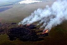 اعزام  بالگرد برای  شناسایی نقاط آتش سوزی هورالعظیم   امکان درخواست دوباره هواپیمای آبپاش برای اطفای حریق