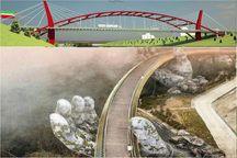 پل کابلی در سرعین ساخته می شود