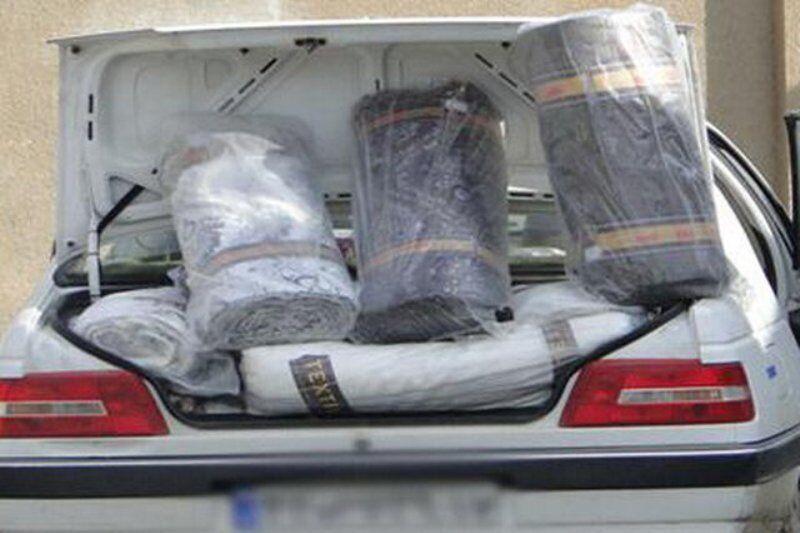 سه دستگاه خودروی کالای قاچاق در شازند توقیف شد