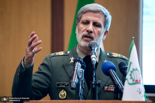وزیر دفاع:  دشمن، اراده و ثبات ما را در حفظ امنیت ملی پذیرفته است