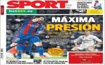 روزنامههای ورزشی خارجی 25 آپریل
