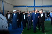 سالن ورزشی چند منظوره در قزوین افتتاح شد