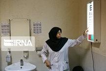 ۲۸ پایگاه سلامت اجتماعی کار بینایی سنجی کودکان را انجام می دهند