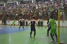 نتایج رقابت های لیگ برتر فوتسال گیلان