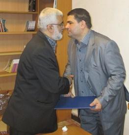 انتصاب رئیس جدید اداره فرهنگ وارشاداسلامی فریدونکنار