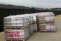 نخستین محموله صادرات کاشی با راهآهن از یزد بارگیری شد