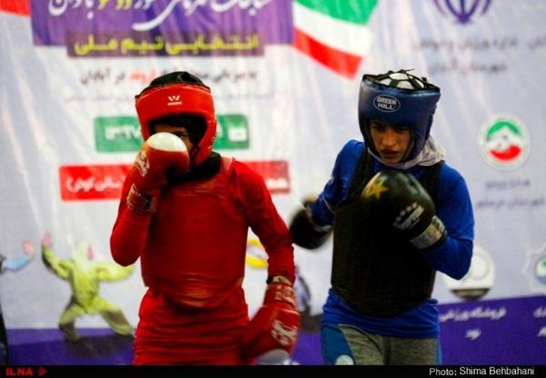 گزارش تصویری مسابقات انتخابی تیم ملی ووشو بانوان در آبادان