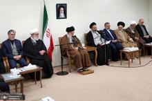 دیدار جمعی از دستاندرکاران و کارگزاران حج کشورمان با رهبر معظم انقلاب