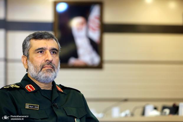 روایت سردار حاجیزاده از  دروغ بزرگ ترامپ در مورد پهپاد ایرانی