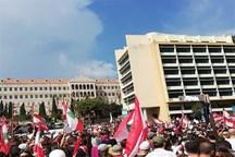 نهمین روز اعتراضات در لبنان/ واکنش ارتش به رفتارهای غیرقانونی برخی تظاهر کنندگان