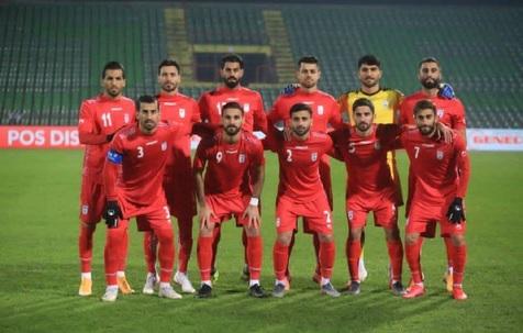 تساوی بدون گل تیم ملی مقابل بوسنی در نیمه اول