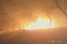 آتشسوزی در جنگلهای رضوانشهر و تالش
