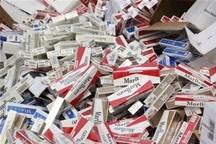 یک میلیارد و 200 میلیون ریال سیگار قاچاق کشف شد