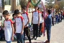 المپیاد ورزشی درون مدرسه ای مهریز آغاز شد