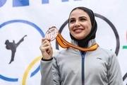 سارا بهمنیار در لیگ جهانی کاراته برنزی شد؛ آسیابری دومین مدال را گرفت