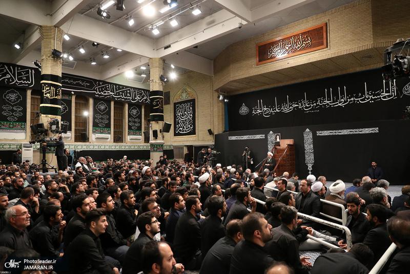 دومین شب عزاداری حضرت اباعبدالله الحسین(ع) در حسینیه امام خمینی(ره)