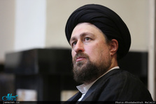 تسلیت سید حسن خمینی به حجت الاسلام و المسلمین محمد حسین حسنخانی