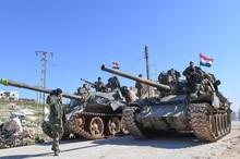 آزادی شهر  مهم کفرنبل در جنوب ادلب/ سرنگونی یک پهپاد ترکیه توسط ارتش سوریه+تصاویر