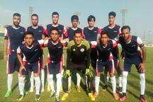 تیم فوتبال کاسپین قزوین در خانه حریف بازی را واگذار کرد