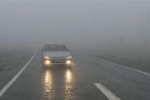 مه غلیظ دید افقی در مسیرهای کوهستانی زنجان را کاهش داده است
