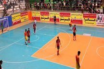 تیم فوتسال گیتیپسند اصفهان بر هایپرشهر شاهینشهر غلبه کرد