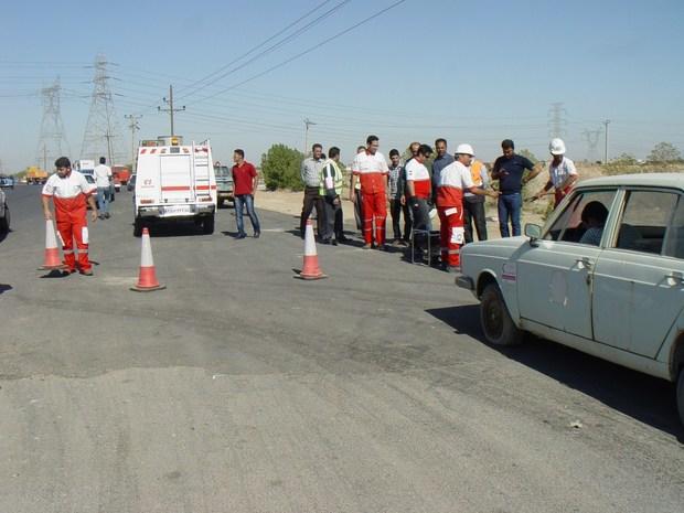 برگزاری 78 مانور ایمنی در جاده های سیستان و بلوچستان
