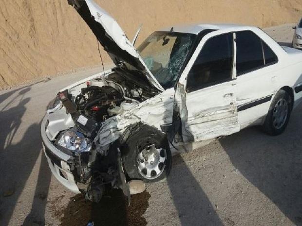 تصادف رانندگی در بروجرد 2 کشته و2 مصدوم برجا گذاشت