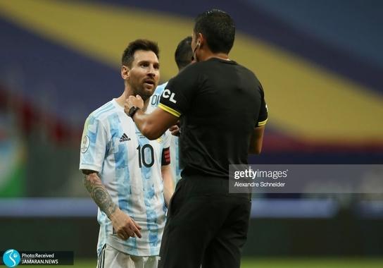 کوپا آمه ریکا ۲۰۲۱ - تیم فوتبال آرژانتین و تیم فوتبال پاراگوئه لیونل مسی