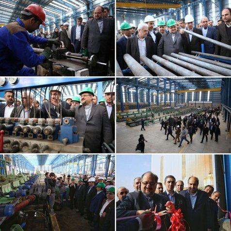 2 شرکت صنعتی با اشتغال 300 نفری افتتاح شد
